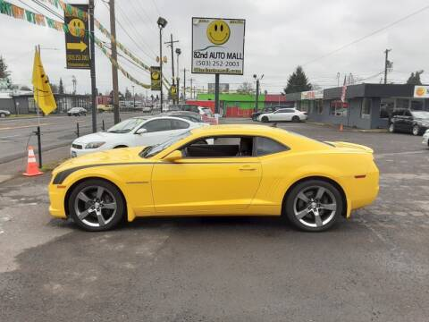 2011 Chevrolet Camaro SS for sale at 82nd AutoMall in Portland OR