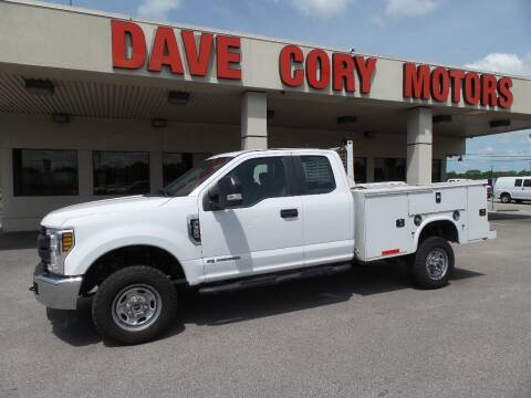 2018 Ford F-350 Super Duty XL for sale at DAVE CORY MOTORS in Houston TX