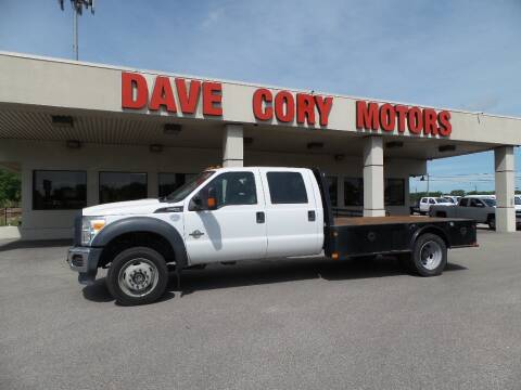 2016 Ford F-550 Super Duty for sale at DAVE CORY MOTORS in Houston TX