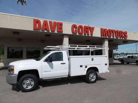 2017 Chevrolet Silverado 2500HD Work Truck for sale at DAVE CORY MOTORS in Houston TX