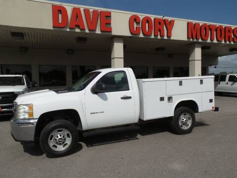 2011 Chevrolet Silverado 2500HD Work Truck for sale at DAVE CORY MOTORS in Houston TX