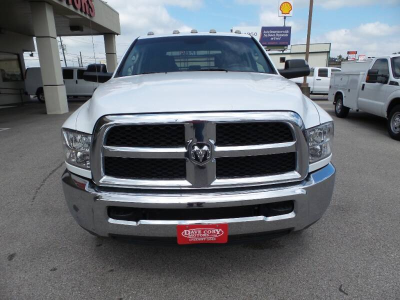 2017 RAM Ram Chassis 3500 4x2 Tradesman 4dr Crew Cab 172.4 in. WB Chassis - Houston TX