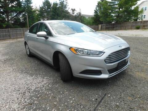 2014 Ford Fusion for sale at Prize Auto in Alexandria VA
