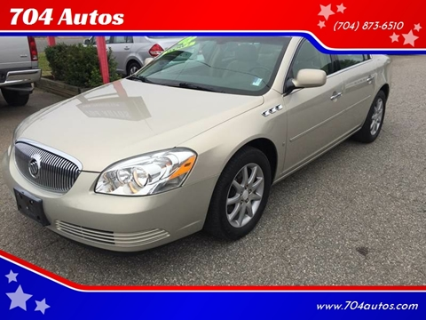 2008 Buick Lucerne CXL for sale at 704 Autos in Statesville NC