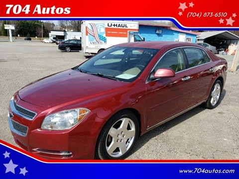 2009 Chevrolet Malibu LT2 for sale at 704 Autos in Statesville NC