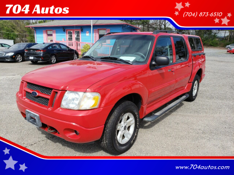 2005 Ford Explorer Sport Trac Adrenalin for sale at 704 Autos in Statesville NC