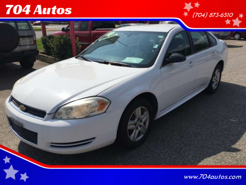 2010 Chevrolet Impala LS for sale at 704 Autos in Statesville NC