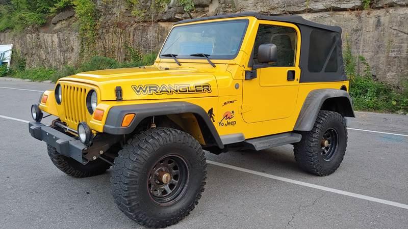 2004 Jeep Wrangler Sport 4WD 2dr SUV   Nashville TN