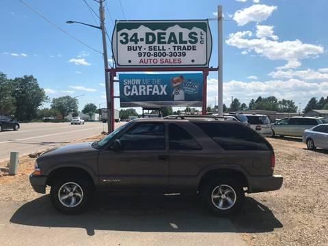 1998 Chevrolet Blazer for sale in Loveland, CO