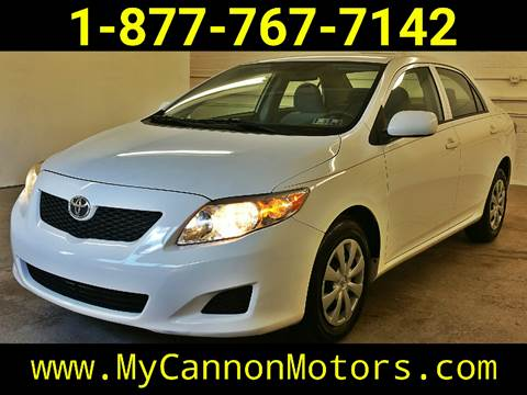 2009 Toyota Corolla for sale at Cannon Motors in Silverdale PA