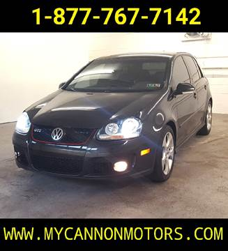 2008 Volkswagen GTI for sale at Cannon Motors in Silverdale PA