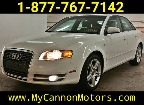 2007 Audi A4 for sale at Cannon Motors in Silverdale PA