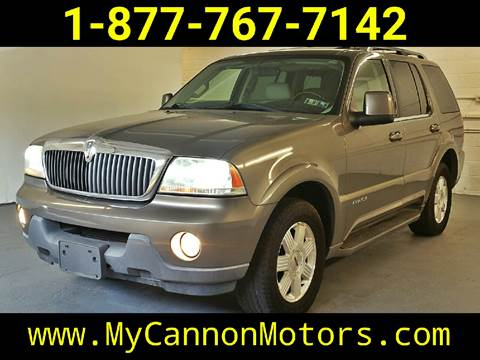 2003 Lincoln Aviator for sale in Silverdale, PA