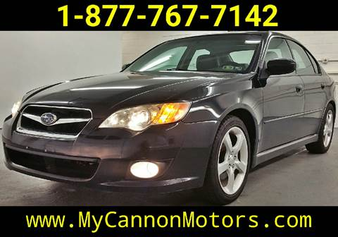 2008 Subaru Legacy for sale at Cannon Motors in Silverdale PA