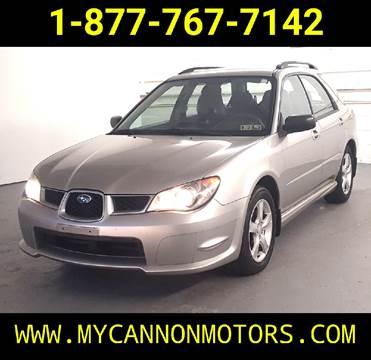 2006 Subaru Impreza for sale at Cannon Motors in Silverdale PA