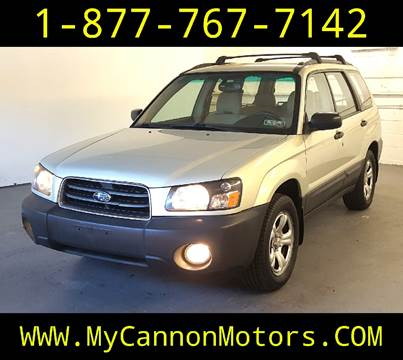 2005 Subaru Forester for sale in Silverdale, PA