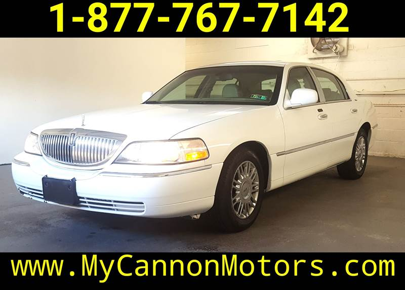 2006 Lincoln Town Car Designer Series In Silverdale Pa Cannon Motors