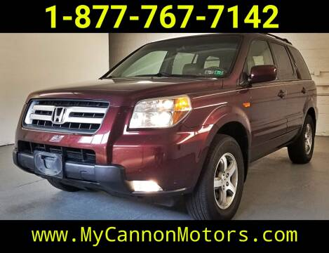 2007 Honda Pilot for sale at Cannon Motors in Silverdale PA