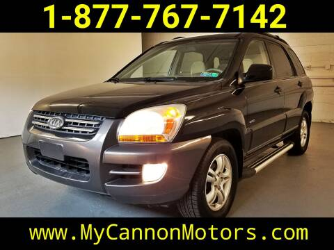 2006 Kia Sportage for sale at Cannon Motors in Silverdale PA