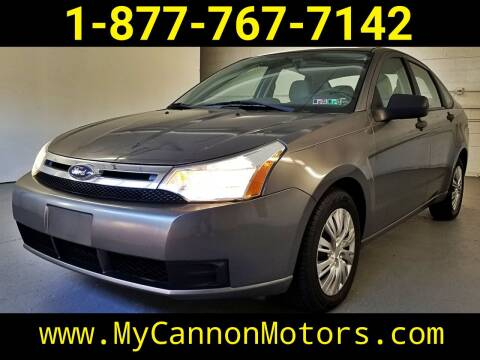2010 Ford Focus for sale at Cannon Motors in Silverdale PA