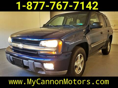 2002 Chevrolet TrailBlazer for sale at Cannon Motors in Silverdale PA