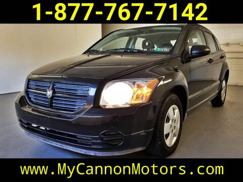 2008 Dodge Caliber for sale at Cannon Motors in Silverdale PA