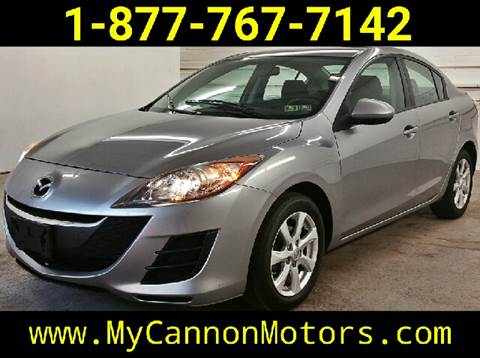 2010 Mazda MAZDA3 for sale at Cannon Motors in Silverdale PA