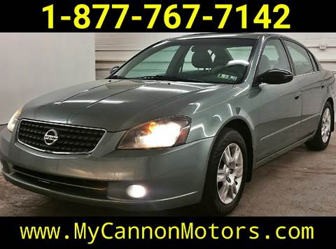 2005 Nissan Altima for sale at Cannon Motors in Silverdale PA