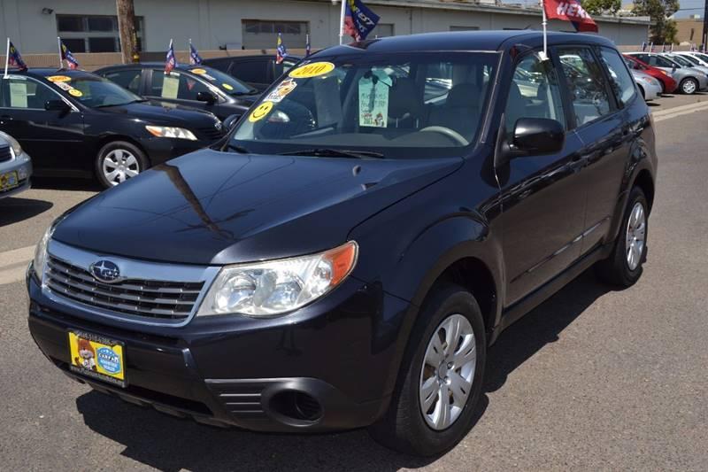 2010 Subaru Forester for sale at Platinum Auto Sales in Costa Mesa CA