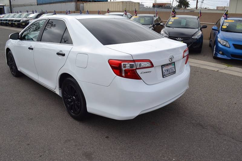 2013 Toyota Camry for sale at Platinum Auto Sales in Costa Mesa CA