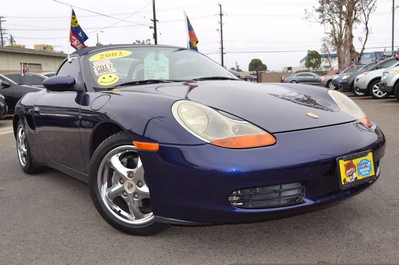 2002 Porsche Boxster for sale at Platinum Auto Sales in Costa Mesa CA