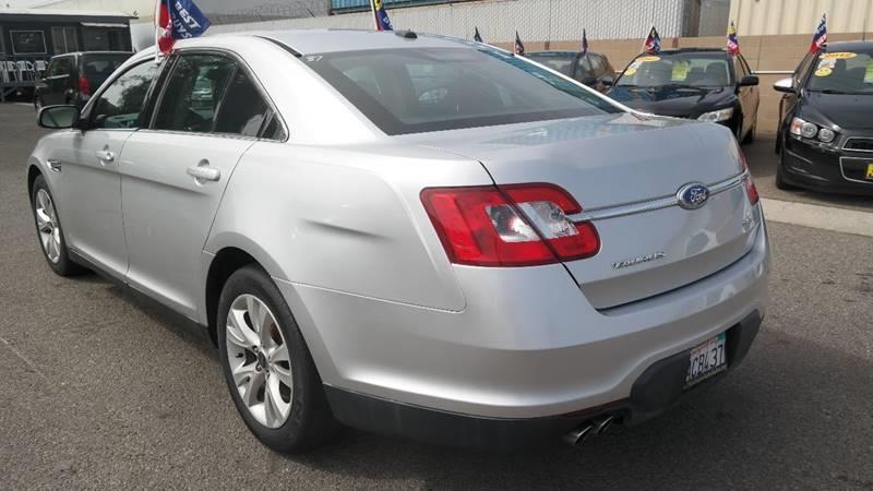 2011 Ford Taurus for sale at Platinum Auto Sales in Costa Mesa CA