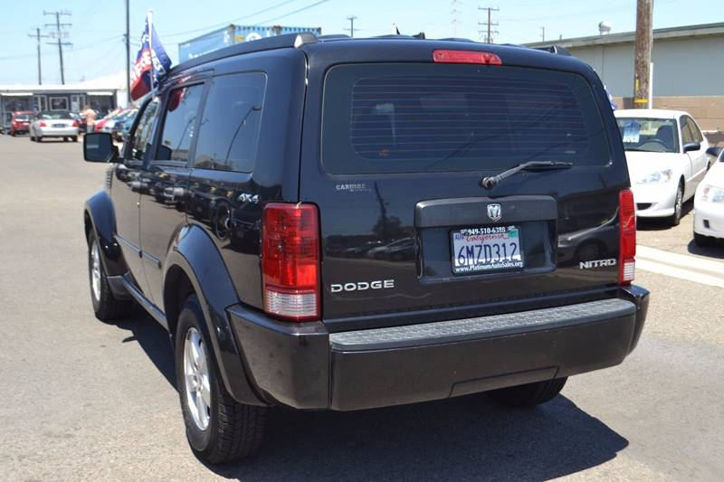 2009 Dodge Nitro for sale at Platinum Auto Sales in Costa Mesa CA