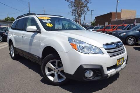 2013 Subaru Outback for sale at Platinum Auto Sales in Costa Mesa CA
