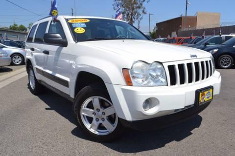 2006 Jeep Grand Cherokee for sale at Platinum Auto Sales in Costa Mesa CA