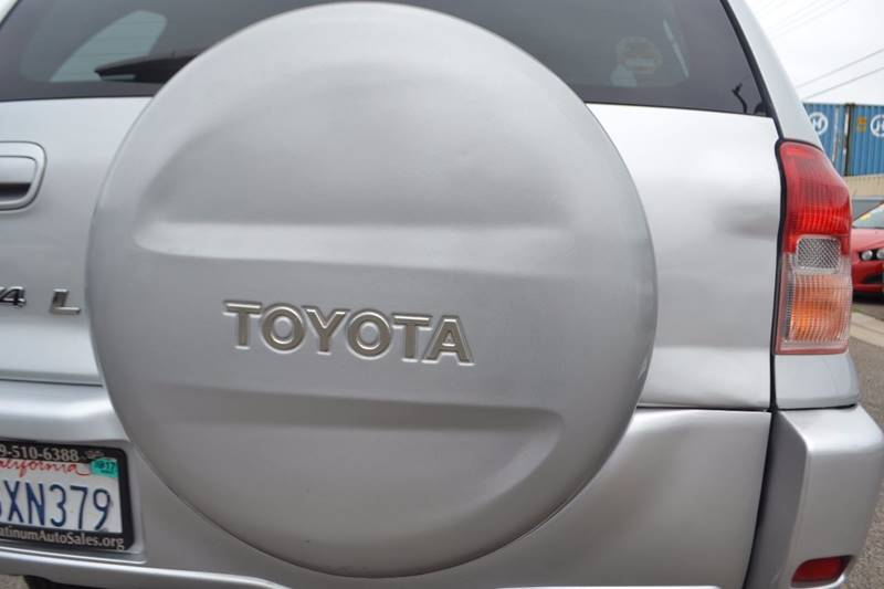 2003 Toyota RAV4 for sale at Platinum Auto Sales in Costa Mesa CA