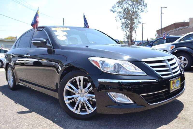 2013 Hyundai Genesis for sale at Platinum Auto Sales in Costa Mesa CA