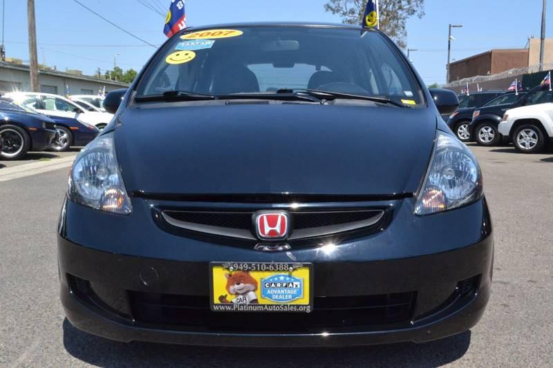 2007 Honda Fit for sale at Platinum Auto Sales in Costa Mesa CA