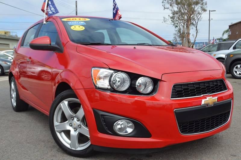 2013 Chevrolet Sonic for sale at Platinum Auto Sales in Costa Mesa CA