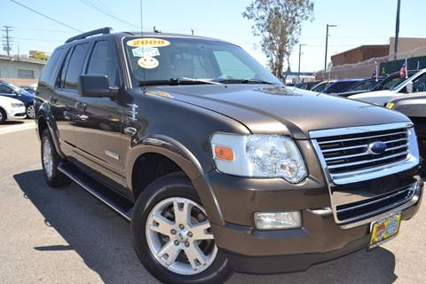 2008 Ford Explorer for sale at Platinum Auto Sales in Costa Mesa CA