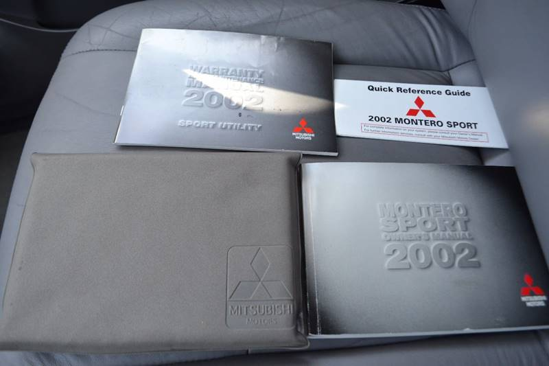 2002 Mitsubishi Montero Sport for sale at Platinum Auto Sales in Costa Mesa CA