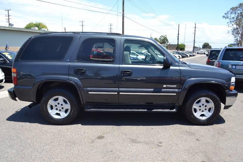 2003 Chevrolet Tahoe for sale at Platinum Auto Sales in Costa Mesa CA