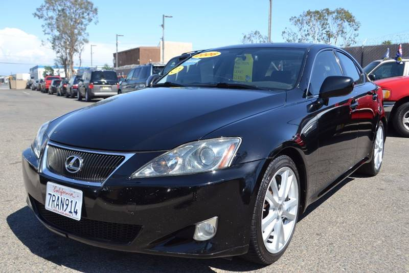 2006 Lexus IS 250 for sale at Platinum Auto Sales in Costa Mesa CA