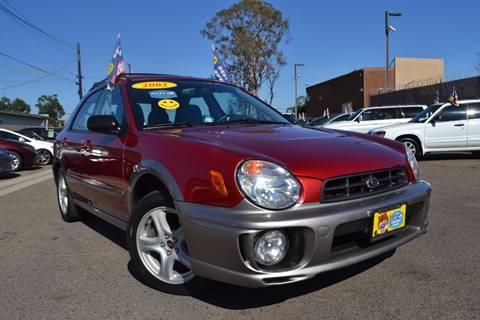 2002 Subaru Impreza for sale at Platinum Auto Sales in Costa Mesa CA