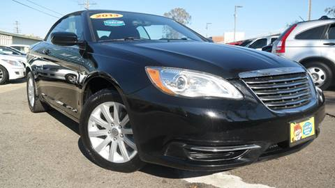 2013 Chrysler 200 Convertible for sale in Costa Mesa, CA