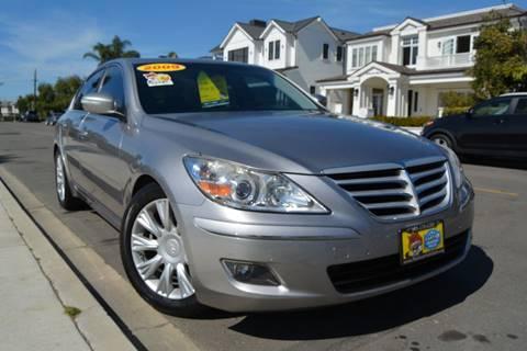 2009 Hyundai Genesis for sale at Platinum Auto Sales in Costa Mesa CA