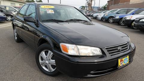2001 Toyota Camry for sale at Platinum Auto Sales in Costa Mesa CA