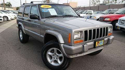 2001 Jeep Cherokee for sale at Platinum Auto Sales in Costa Mesa CA