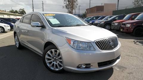 2013 Buick LaCrosse for sale at Platinum Auto Sales in Costa Mesa CA