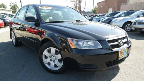 2008 Hyundai Sonata for sale at Platinum Auto Sales in Costa Mesa CA